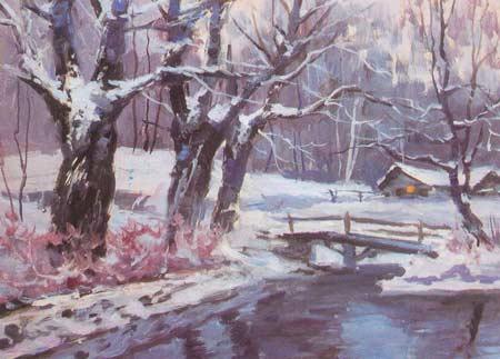 Картина:Первый снег.