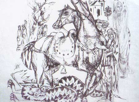 Картина:Конь Святого Георгия.