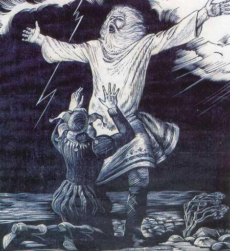 Картина:Король Лир в бурю.