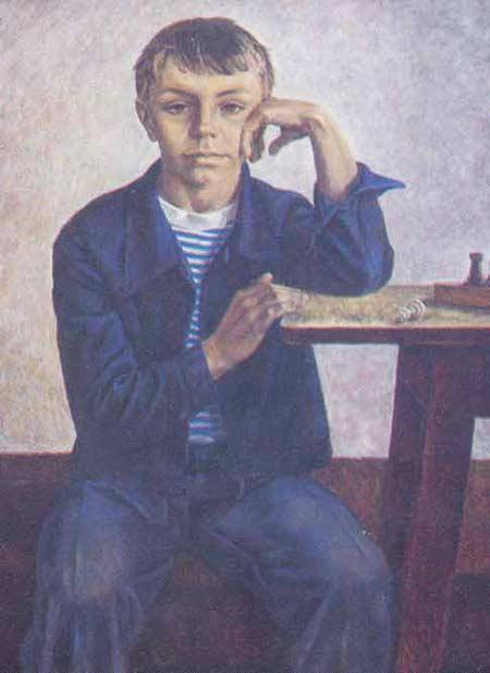 Картина:Мальчик в синем.