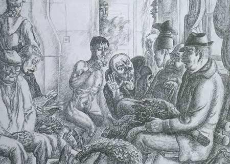 Картина:Разговор в предбаннике.