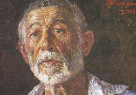 Картина:Автопортрет в Риновке.