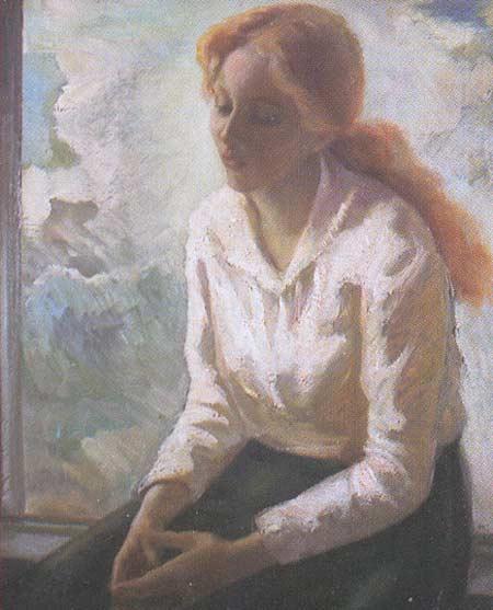 Картина:Портрет девушки.