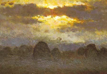 Картина:Вечер в поле.