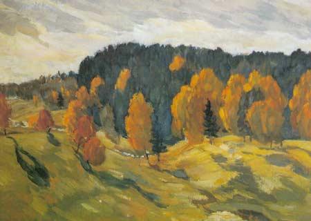 Картина:Осень в Чувашии.