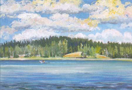 Картина:Остров Риеккалансаари.