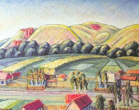 Картина:Деревня.