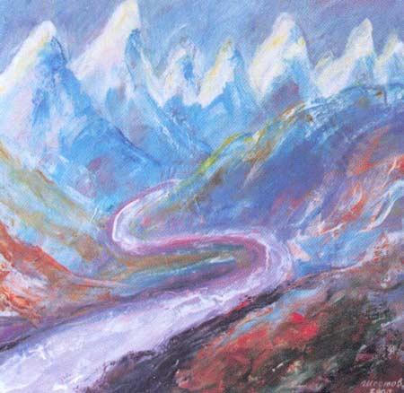 Картина:Перламутровые горы.