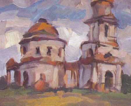 Картина:Развалины церкви.