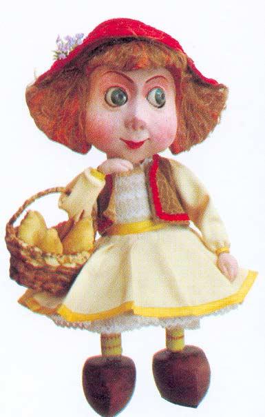 Картина:Красная Шапочка. Кукла к спектаклю по пьесе М. Супонина Красная Шапочка, Томагочи и Волк