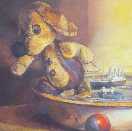 Картина:Необыкновенные приключения Бульки Спасение Титаника.
