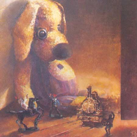 Картина:Необыкновенные приключения Бульки. Прибытие поезда.