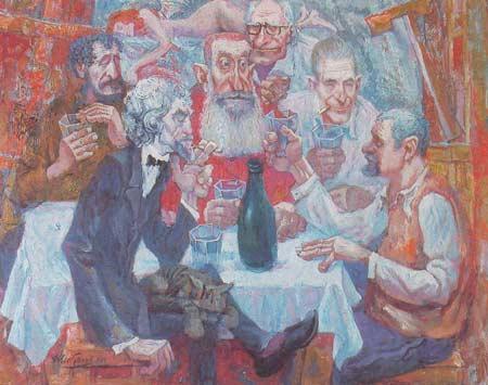 Картина:Мне шестьдесят. Дягилев А. И., Егуткин А. Е., Склярук Б. Н., Сабуров В. Ф., Матяшин Ю. А., Шибанов Е