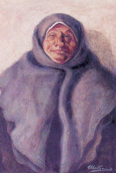 Картина:Пуховый платок.