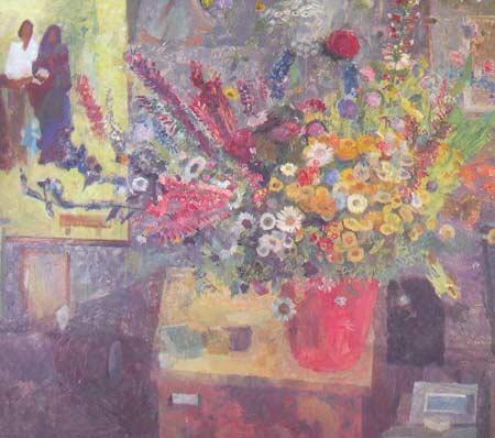 Картина:Букет цветов.