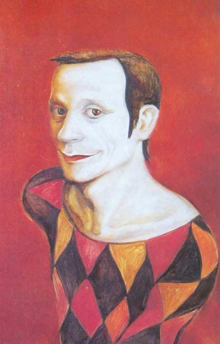 Картина:Лицедей (портрет нар. арт. РФ. Александрова)