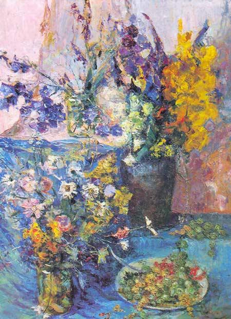 Картина:Полевые цветы.