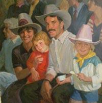 Картина:Американская семья