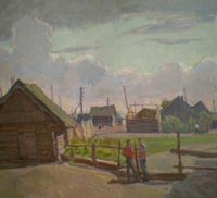 Картина:Деревня