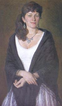 Картина:Женский портрет