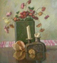 Картина:Натюрморт со свечей