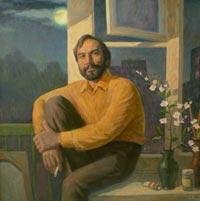 Картина:Портрет друга А.Е. Клименко