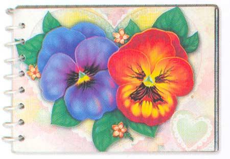 Картина:Блокнот  валентинка.