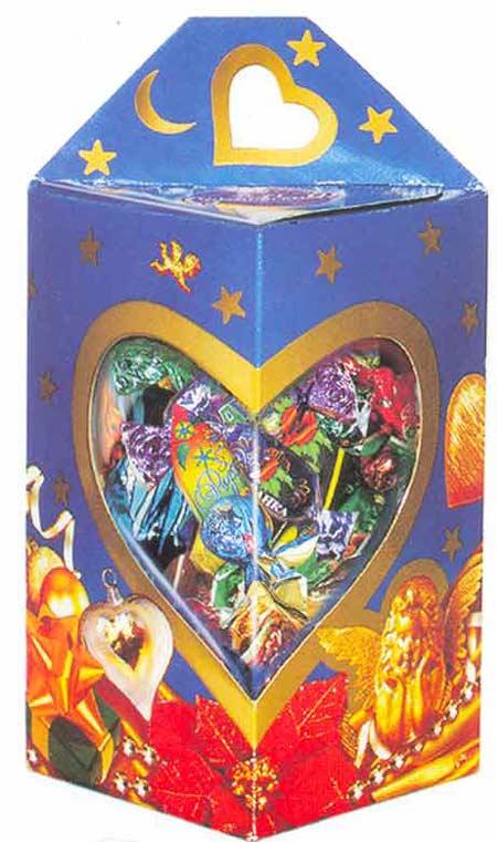 Картина:Новогодняя подарочная упаковка От сердца к сердцу.