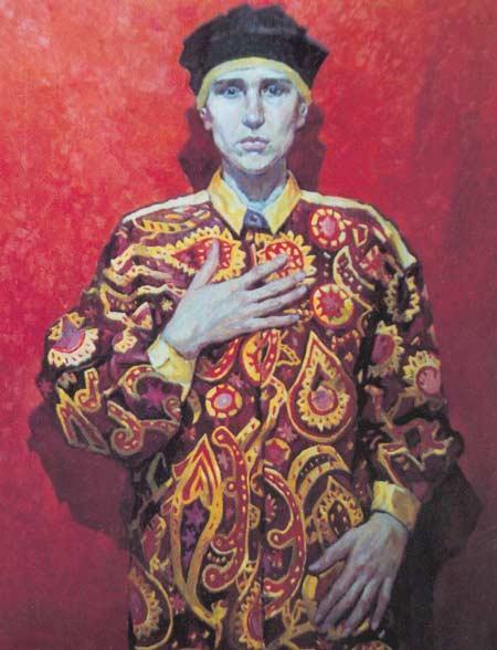 Картина:Портрет Вавилиной Ларисы.