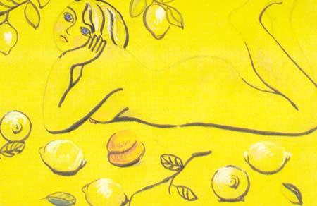 Картина:Лимонная женщина.