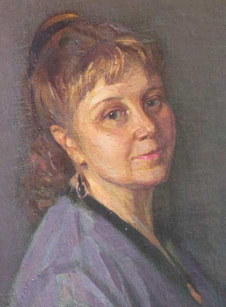 Картина:Портрет Галины Ивановны Мишовой.