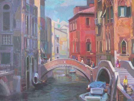 Картина:Улица в Венеции.