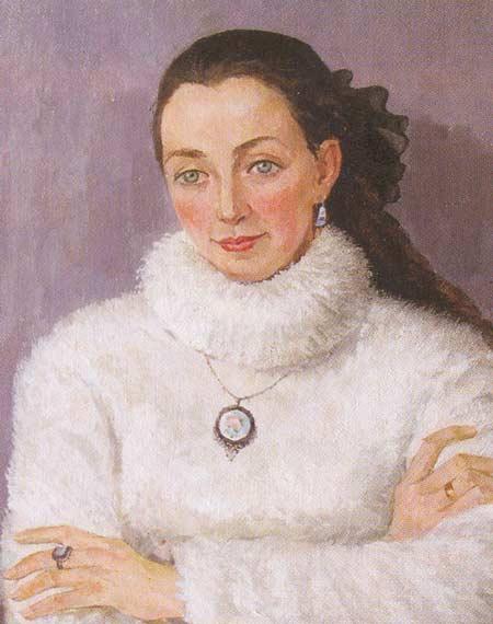 Картина:Портрет Аряпкиной И. В.