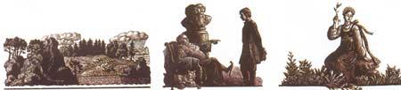 Картина:Иллюстрация к сказкам Бажова Хозяйка Медной горы.