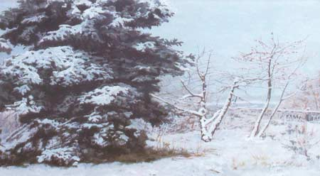 Картина:Венец зимой.