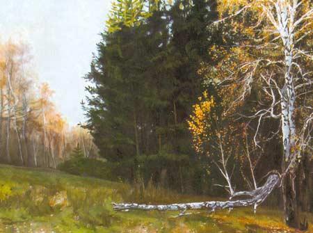 Картина:Осень в лесу.