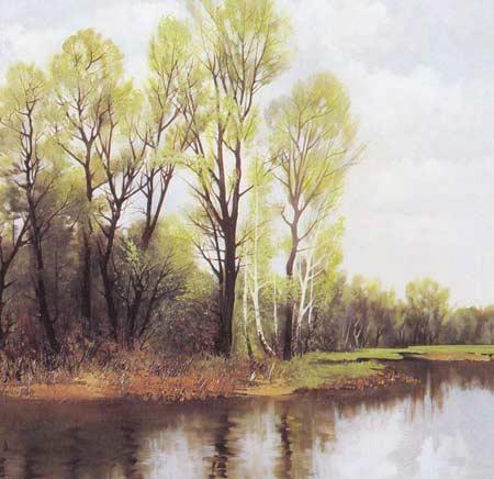 Картина:Весенняя зелень.