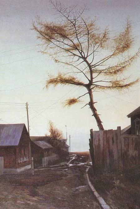 Картина:Улица в Лествянке.